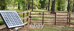 Heavy-Duty Single Automatic Gate Opener Kit for Swing Gates Up to 20 Feet (ft.)
