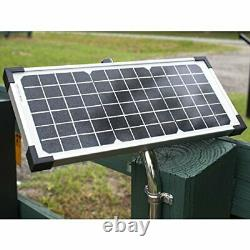 Heavy-Duty Solar Single Automatic Gate Opener Kit for Swing Gates Up to 20ft