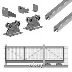 Kit Cantilever Free Standing Without Track For Gates Panel Sliding Max 6 MT