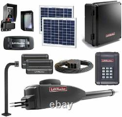 LiftMaster LA400PKGU / LA400PKGUL Gate Opener 10W Solar Kit 2019 UL325 Compliant