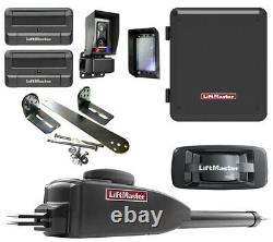 Liftmaster Single Gate Opener Kit LA400PKGUL With 2 Free Remotes, 828LM & Bracket