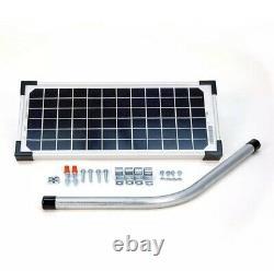 Mighty Mule FM123 10 Watt Solar Panel Kit For Electric Gate Opener
