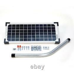 Mighty Mule FM123 Solar Panel Kit, 10W