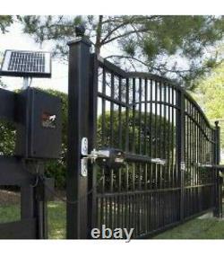 Mighty Mule MM371W Automatic Gate Opener Kit Black