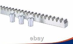 NSEE PK1600-5 1600KG/3500LBS 110V/220V Slide Gate Door Opener Rack & Pinion Soft