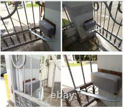 NSEE PK400AC-7 800KG/1800LBS Opener Dual Articulated Swing Gate Door Operator