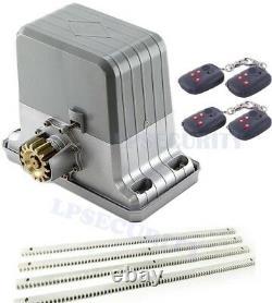 NSEE PY1800-1 1800KG/4000LBS Rack and Pinions Operator Slide Gate Door Opener