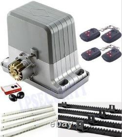 NSEE PY1800-2 1800KG/4000LBS Rack and Pinions Opener Slide Gate Door Operator