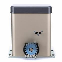 NSEE PY500AC2 600KG/1300LB Sliding Gate Door Opener Rack & Pinion Slide Operator
