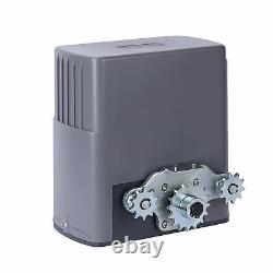 Premium Sliding Gate Opener Kit with/Remote Control Powerful Motor Easy Setup