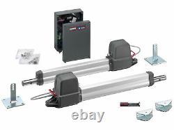 SOMMER TWIST 200 E swing gate kit automatic opener operators 2,5m leaf 300kg 24V