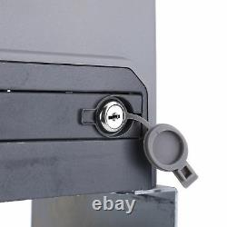 Secondhand Sliding Gate Opener Automatic Motor Remote Kit Heavy Electric 3300lbs