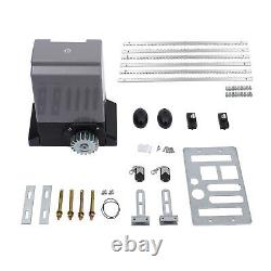 Sliding Electric Gate Opener 2000KG Automatic Motor Remote Kit with 6m Rails Track