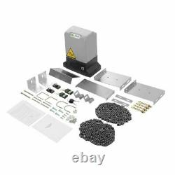 Sliding Gate Opene Remote Kit Door Motor Automatic With Key Electric 3300LBS ws