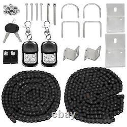 Sliding Gate Opener Door Operator Kit 1800lbs Driveway Motor Security Heavy Duty