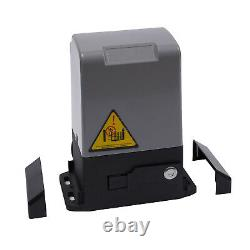 Sliding Gate Opener Electric Operator 1400lbs 600kg Automatic Motor Remote Kit