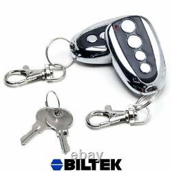 Sliding Gate Opener Full Kit Auto-Close Soft Start Slow Stop Pedestrian Mode