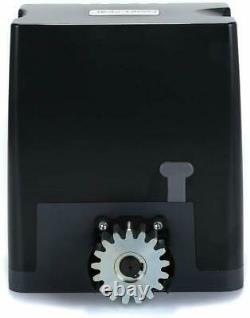 Sliding Gate Opener Hardware Kit with with Tracks AC 110V/60HZ Motor Alarm