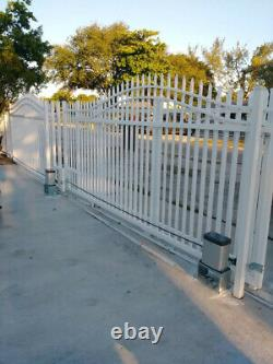 Sliding Gate Opener Kit Compatible with Remote Controls & Infrared Sensor AT660