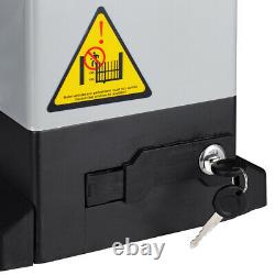 Sliding Gate Opener Kit with4 Gear Racks 2 Remotes 2 Sensors & gate electric motor