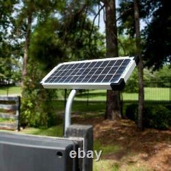 Solar Panel Kit for Electric Gate Opener 10W Fencing Strong Steel Solar Kit Home