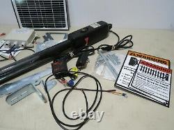 TOPENS A3S Automatic Gate Opener Kit Light Duty Solar Single Gate Operator