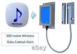 Wireless Gate Contact Alert Kit (300 metre) Alerts you to a Gate being Opened